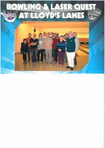 The MCL Team Goes Bowling Christmas 2012